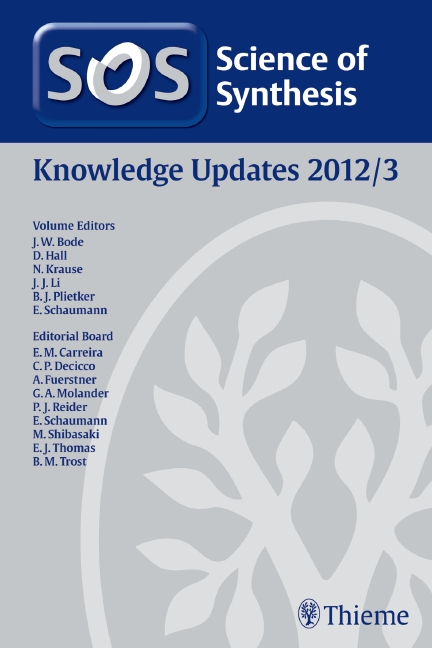 Science of Synthesis Knowledge Updates 2012 Vol. 3