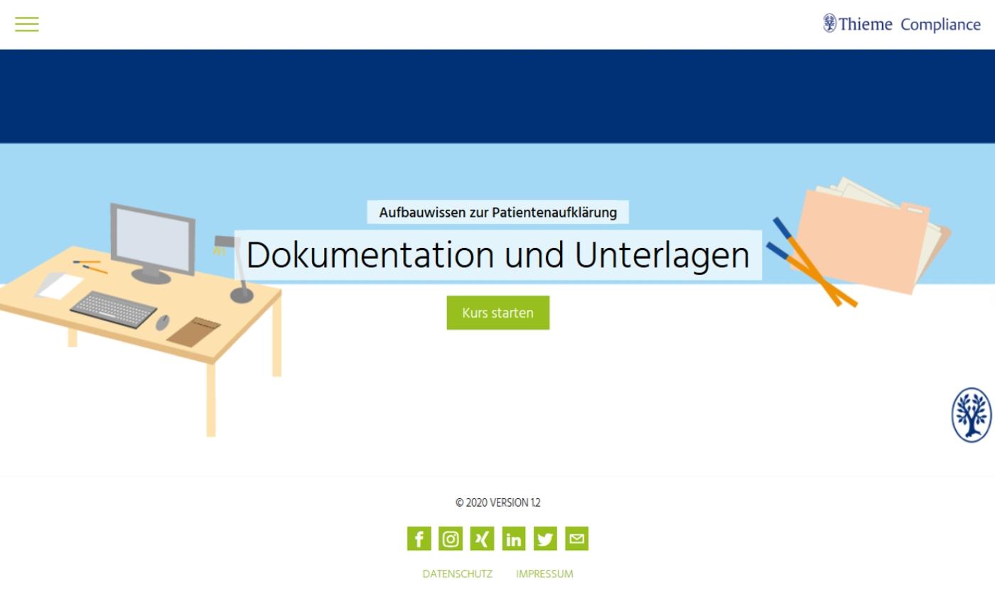Aufbauwissen zur Patientenaufklärung: Dokumentation und Unterlagen
