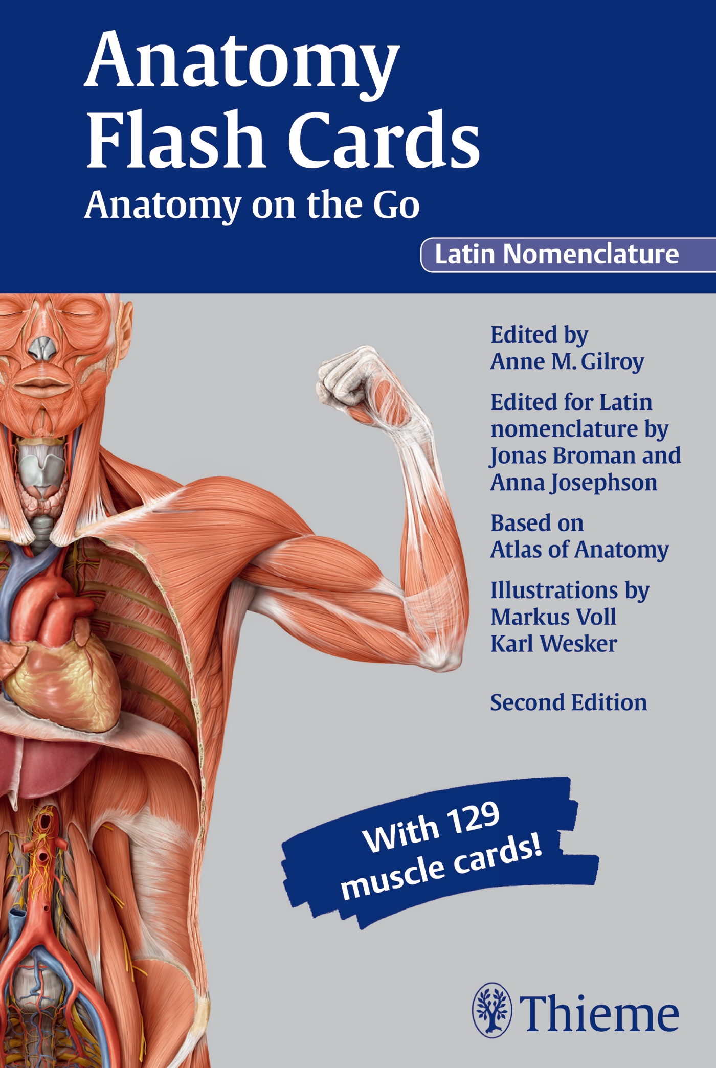 Anatomy Flash Cards: Anatomy on the Go, second edition, Latin Nomenclature