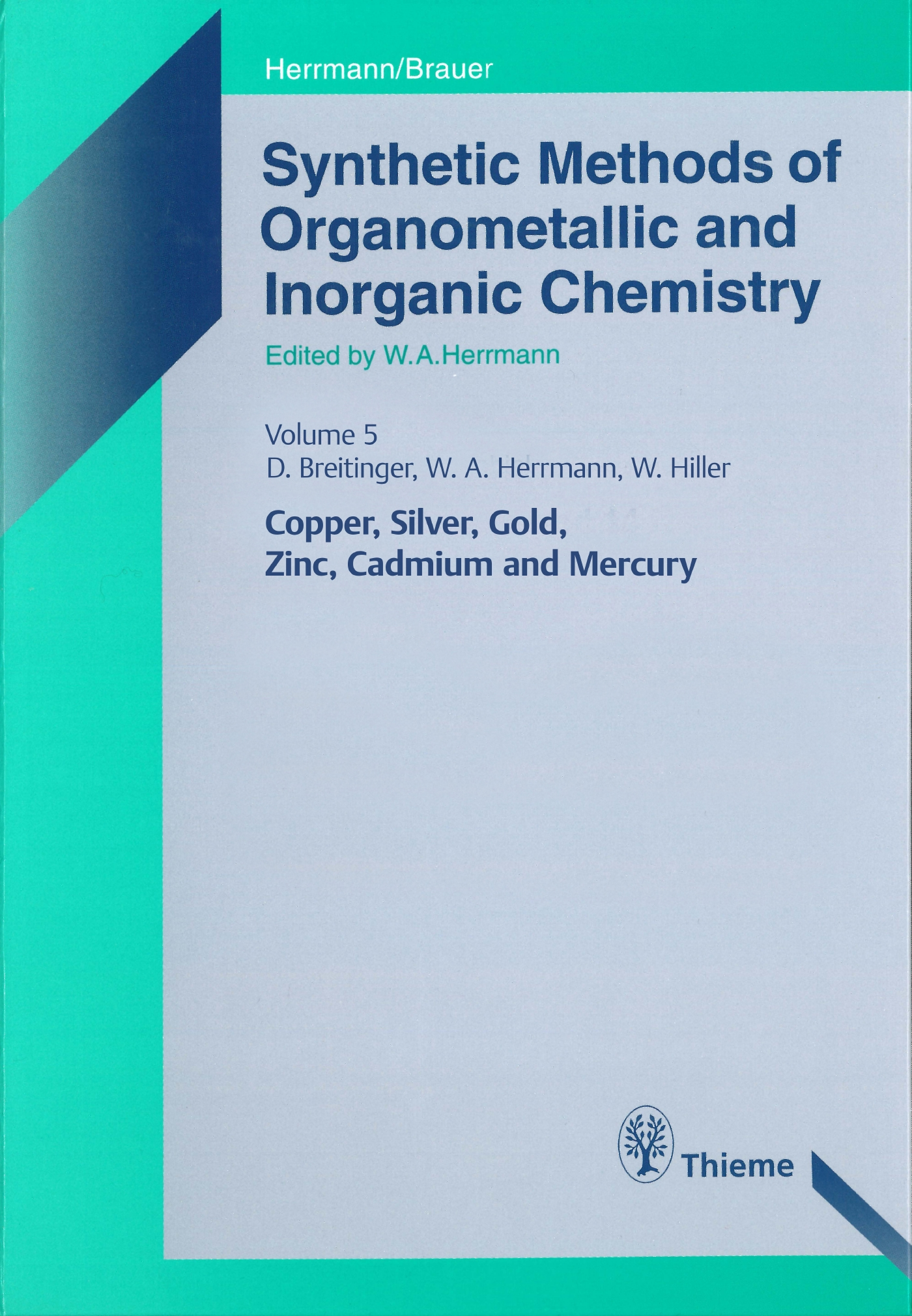 Synthetic Methods of Organometallic and Inorganic Chemistry, Volume 5, 1999