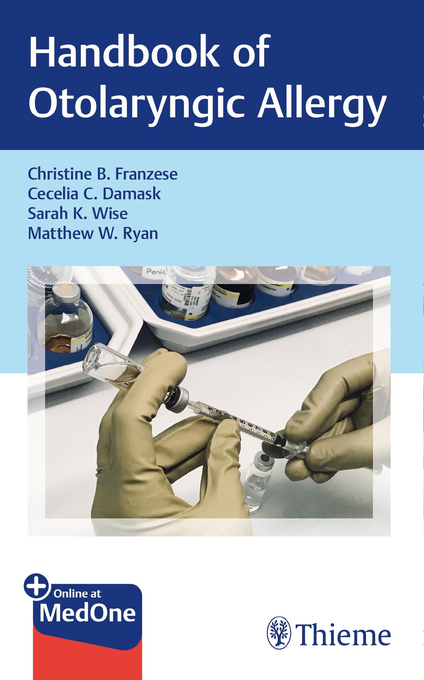 Handbook of Otolaryngic Allergy
