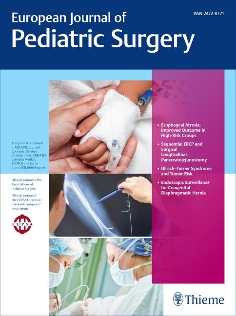 European Journal of Pediatric Surgery