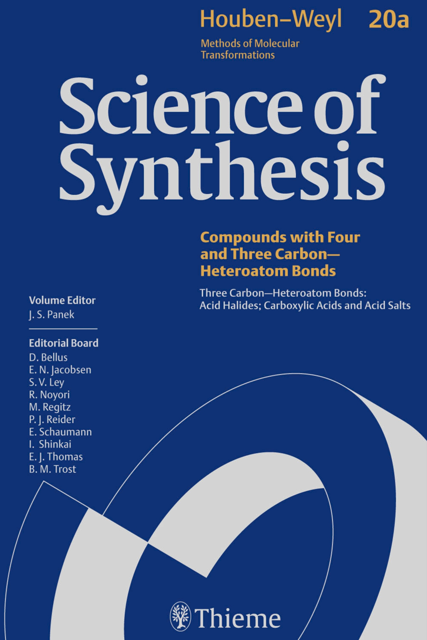 Science of Synthesis: Houben-Weyl Methods of Molecular Transformations  Vol. 20a