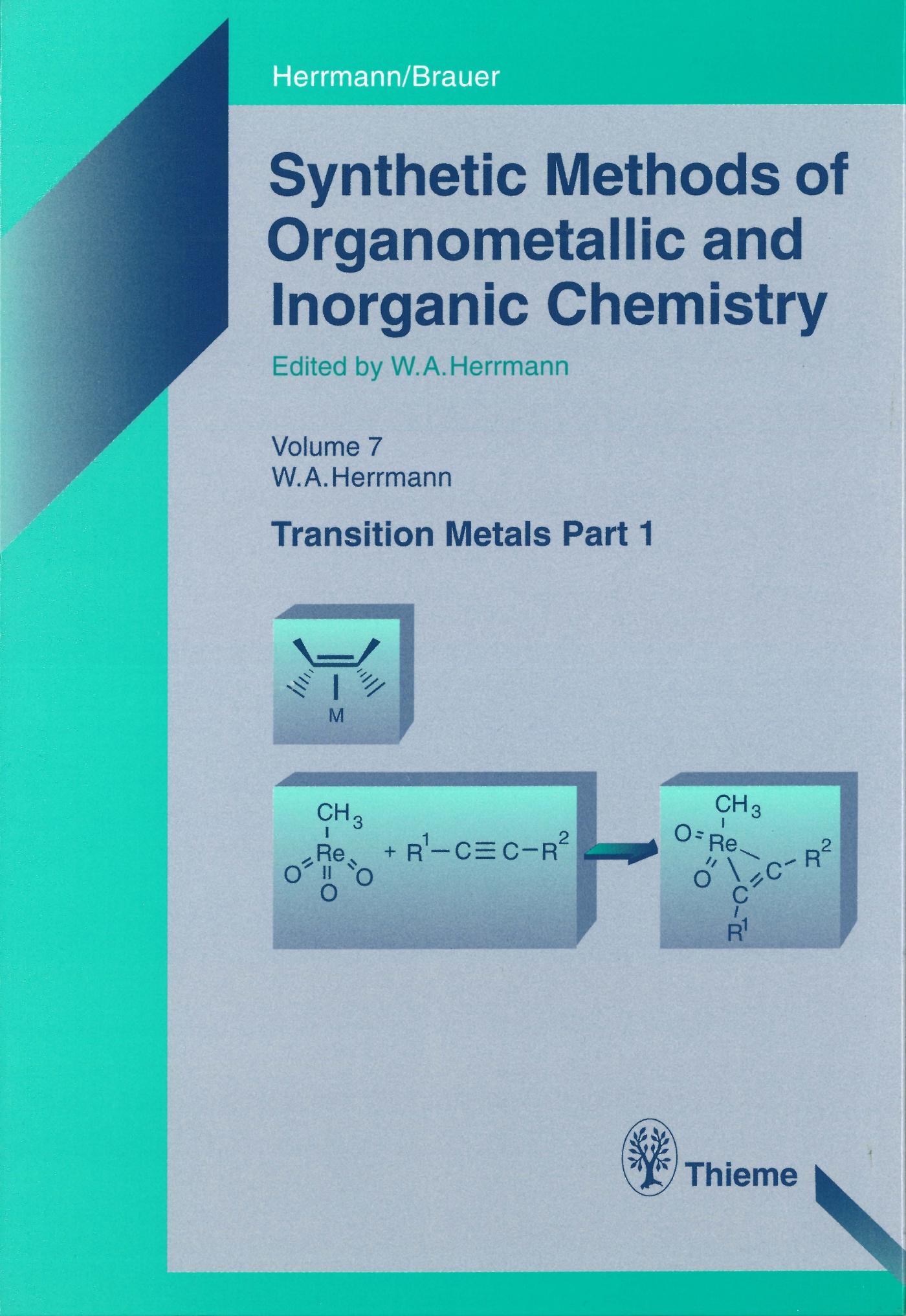 Synthetic Methods of Organometallic and Inorganic Chemistry, Volume 7, 1997