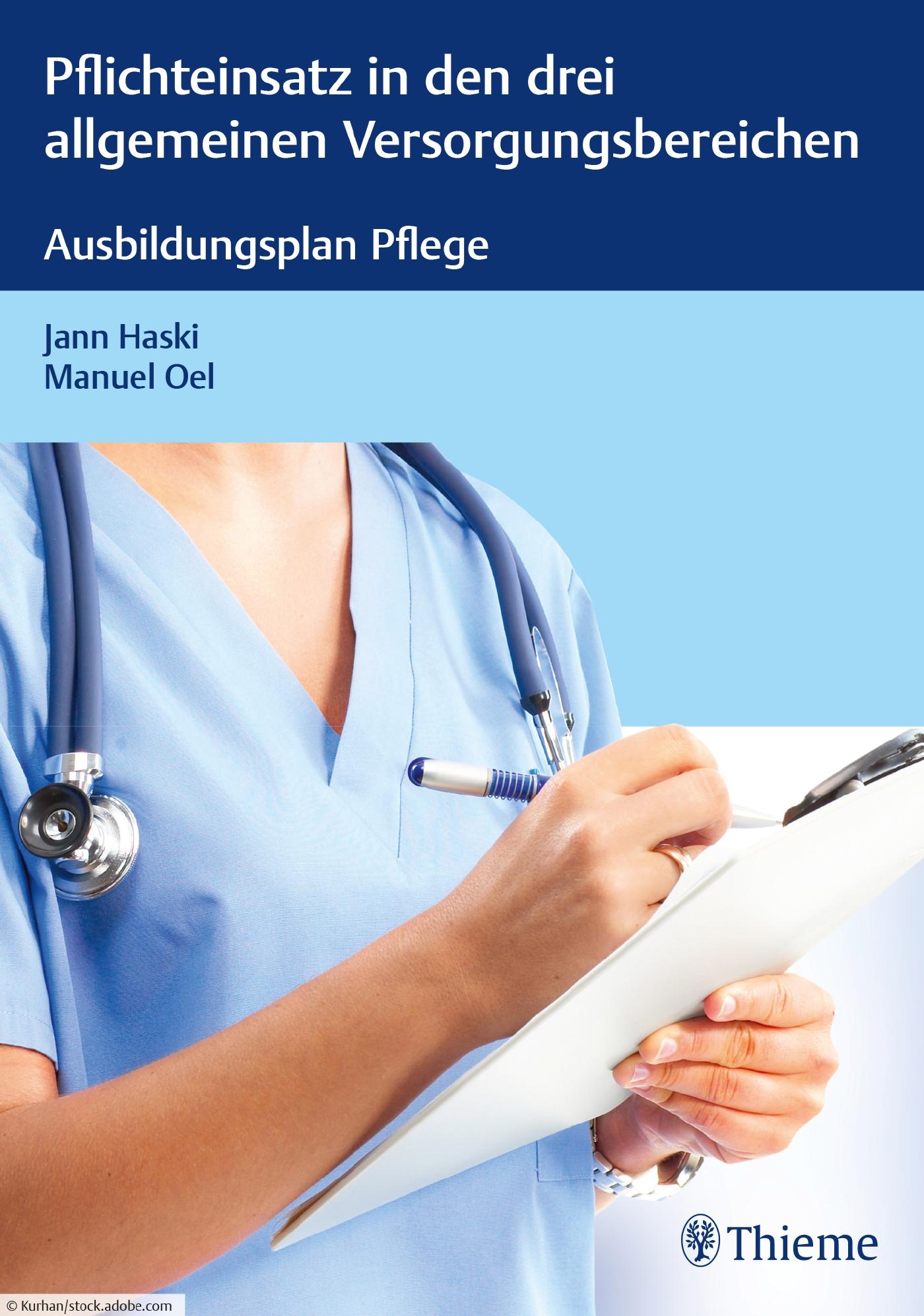 Ausbildungsplan Pflege – Pflichteinsatz in den drei allgemeinen Versorgungsbereichen