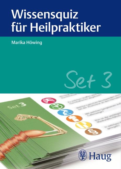 Wissensquiz für Heilpraktiker Set 3