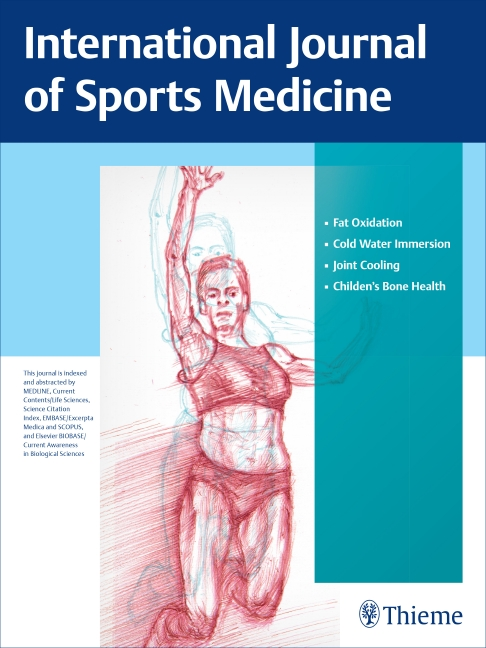 International Journal of Sports Medicine