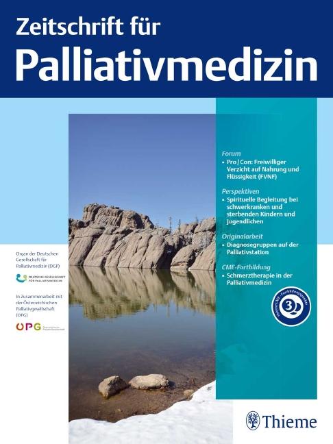 Zeitschrift für Palliativmedizin