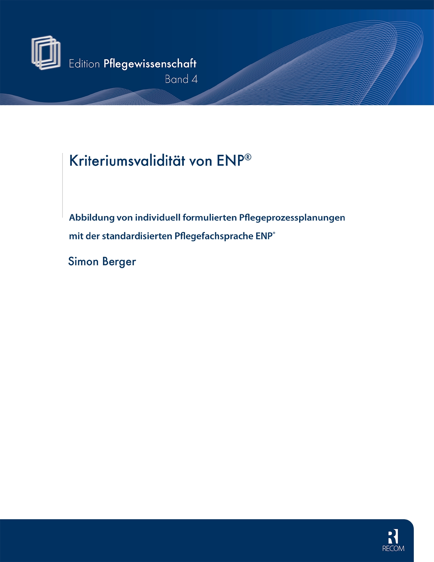 Kriteriumsvalidität von ENP®