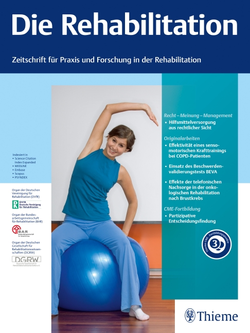 Die Rehabilitation
