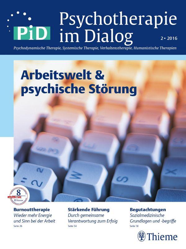 Arbeitswelt & psychische Störungen