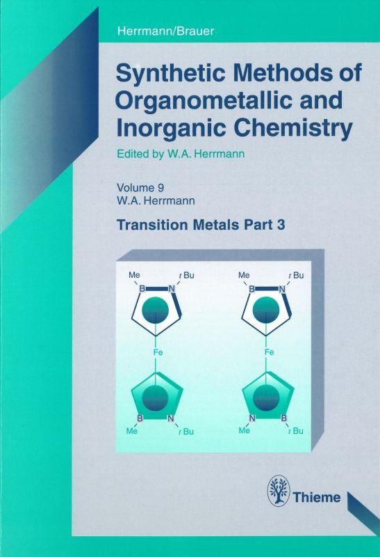 Synthetic Methods of Organometallic and Inorganic Chemistry, Volume 9, 2000