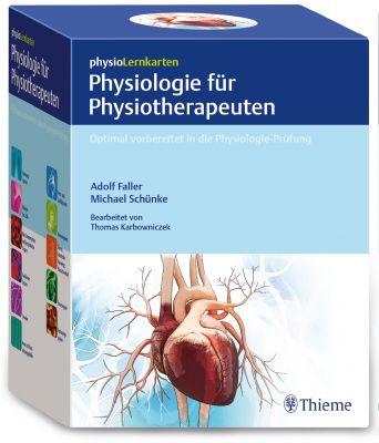 physioLernkarten - Physiologie für Physiotherapeuten